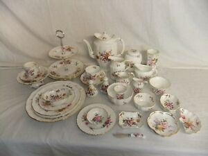 c4 Porcelain Royal Crown Derby - English Bone China - Posies - stamps vary 1A4B