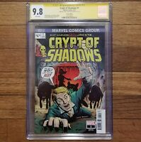Crypt of Shadows 1 - CGC 9.8 signed John Tyler Christopher