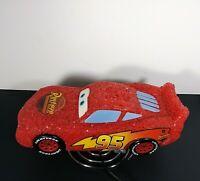 RUST-EZE Lighting McQueen 95 Disney Pixar Car Collectable Light Lamp w/ Stand