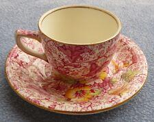 Royal Winton Dorset Pink Floral Chintz Demitasse Cup and Saucer Set