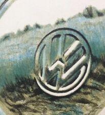 VW Radkappe Chrom 1978 Koltermann Jörg 1940 Elbing Bremen realistisches Litho
