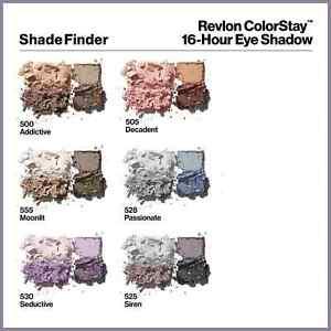 Revlon Colorstay Quad Eyeshadow Choose Shade Below