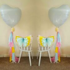 helium balloon weights tassels garland wedding  birthday party  decorations