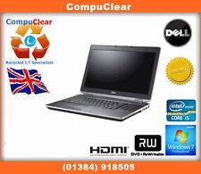 """Dell Latitude E6320 13.3"""" Laptop, intel i5 2.6Ghz, 500Gb HDD, 8Gb RAM, Win 7 Pro"""