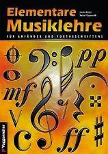 Elementare Musiklehre für Anfänger und Fortgeschrittene ... | Buch | Zustand gut