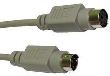 PS/2 Câble pour clavier et souris PS2 Mâle / Femelle Rallonge 6 Broches 3 mètre