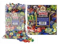 Walkers Nonsuch Toffee Loose – Assorted, Traditional Sweets 500g,1kg, 2.5kg Bag