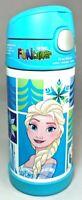 Thermos Funtainer Disney Frozen Elsa Anna Princess Olaf Bottle 12oz Blue Bottle