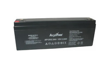 Batteria ermetica ricaricabile al piombo 12V 2.3 Ah con faston x allarme sirena