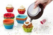 Muffin Cake Molds Non Stick Bakeware Baking Tools Needs Equipments Supplies