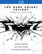 The Dark Knight Trilogy: (Blu-ray Disc, 2016, 6-Disc Set) W/Prints and Letter