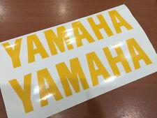 "x2 YAMAHA Decals Stickers Vinyl motorcycle bike YZF MT XSR FZ M-Slaz size 6""-12"""