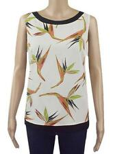 Formal Floral Petite Sleeveless Tops & Shirts for Women