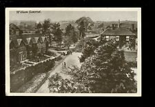 Somerset WITHAM General view used 1915 PPC