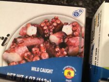 Spanish  Octopus In Oil  Pulpo En Aceite Wild Caught 4- 4 oz Cans