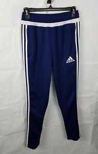 Adidas Climacool Tiro 15 Training Pants Blue/White S27125 Boys Size Large