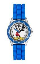 Disney Frozen Correa de caucho azul del Ratón Mickey Mk1241 relojes