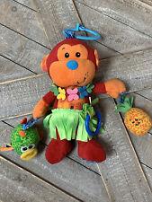 Baby Toy Rattle Monkey Brand Infantino