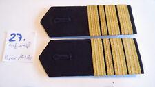 Bundeswehr Schulterstücke Marine weiß Fregattenkapitän 1 Paar (27.)