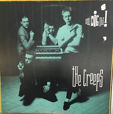 THE CREEPS Now Dig This! VG+ LP WEA France 1988