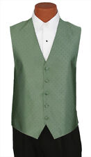 Medium Mens Ralph Lauren Peridot #63 Vineyard Wedding Prom Fullback Tuxedo Vest