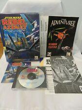 Star Wars Rebel Assault by LucasArts, Pc, 1993, Complete