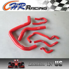 FOR Honda Civic Silicone Radiator Hose RED Si/SiR/VTi/Type R DC2 EK4 EK9 B16A