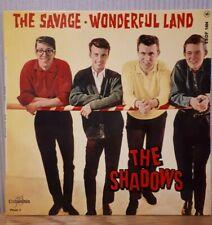 "The Shadows - The Savage  / Wonderful Land - 7"" EP - French pressing - ESDF 1404"