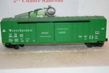 O Scale Trains Lionel Weyerhaeuser Box Car 838593 TTOS
