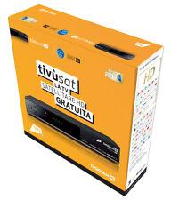 TIVUSAT HD DIGIQUEST con CARTA TIVUSAT, proposto con telecomando programmabile