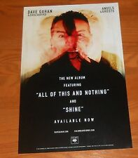 Dave Gahan and Soulsavers Angels and Ghosts Promo 2015 Poster 11x17