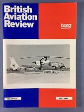 BRITISH AVIATION REVIEW - Profile Journal of Aircraft Research - Vol.26 #7 1984