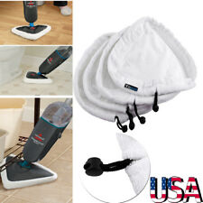 4 Pcs Washable Microfibre Triangle Cloth Replacement Pads For Steam Mop Cleaner