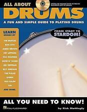 All About Drums, New, Mattingly, Rick Book