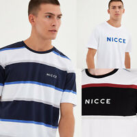 NICCE Mens Crew Neck Designer Casual Cotton Fashion Stylish T-Shirt Tee Top New
