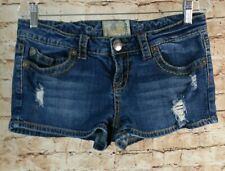 American Rag Cie Women's Juniors Shorts size 9 Distressed Top Stitching   I