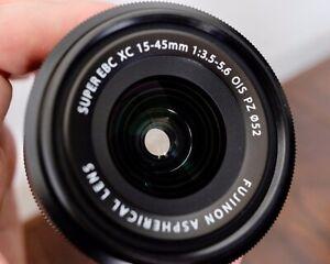 [MINT] Fujifilm Fujinon XC 15-45mm f/3.5-5.6 XC OIS PZ Lens - Black
