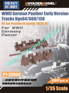 Heavy Hobby PT-35006 1/35 WWII German Panther Early Version Tracks Kgs64/660/150
