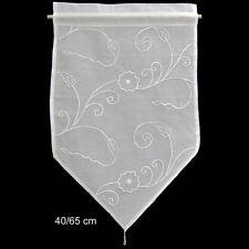 Visillo cortinas de Bistro cortina blanco 40x65cm Shabby Vintage Landhaus