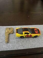 Kidco Lock-ups Chevrolet Corvette Yellow & Black #2 with KEY 1/64 Scale
