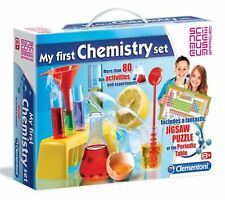 Clementoni MY FIRST CHEMISTRY SET 80 Experiments + 150pc Puzzle SCIENCE MUSEUM