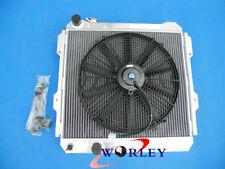 For TOYOTA HILUX LN85 LN60 LN61 LN65 2.4LTR DIESEL 84-91 Aluminum Radiator +FAN