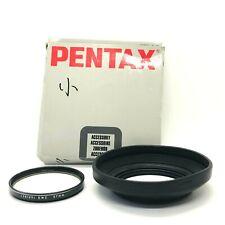 【EXC++++ IN BOX】Pentax Rubber Lens hood RH-RA 67mm L39 Filter Set Japan #595