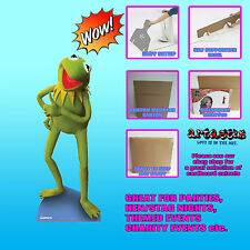 KERMIT THE FROG muppets disney movie  LIFESIZE CARDBOARD CUTOUT SC397