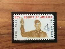 US Boy Scout Stamp 1960 Scott #1145 MNH Free Ship