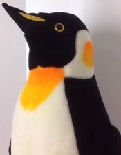 Emperor Penguin Plush Melissa & Doug 2122 Stuffed Animal 2ft Tall Antartica