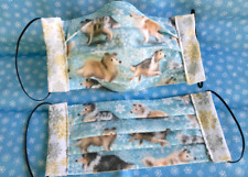 Adult Sable Tri Blue Collie Sheltie Snowflake Puppies Face Masks 100% to Rescue