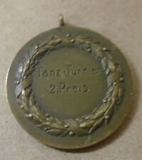 1932 German Medal 2nd Prize For Dance Tournament Tanz Turnier Uhlandeck Bronze