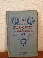 Antique 1908 Les Plus Jolis Vers De L'Annee Best / Greatest Poems of The Year