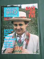 DOCTOR WHO MAG- FIONA CUMMING  - NO 129